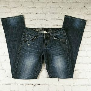 Mossimo Supply Co Denim Jean Pants  Juniors 3